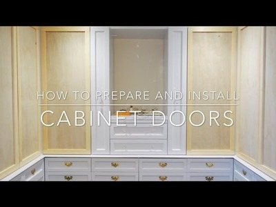 Easy How-To Guide to Install Cabinet Doors, Complete Tutorial