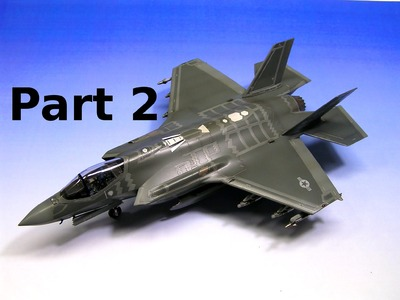 F-35A Lightning II Academy 1:72 Jet Fighter Mode - Part 2