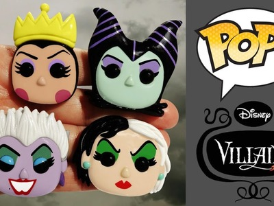 FUNKO POP! DISNEY VILLAINS! Polymer Clay Tutorial