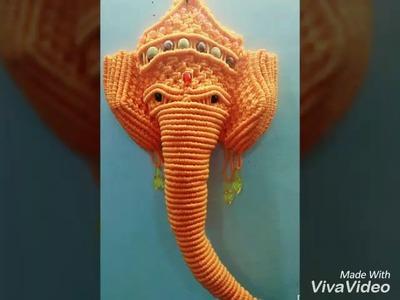 Ganpati bappa morya by sonu nigam (handmade craft)