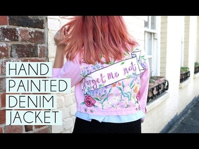 Hand Painted Denim Jacket | Paige Joanna
