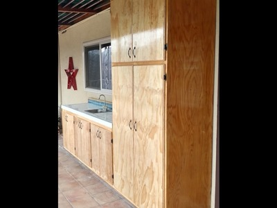 How to Build Plywood Cabinet Doors by CoKnowPro (YouTube)