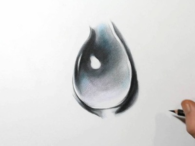 How to Draw a Realistic Drop of Water