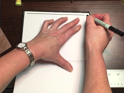 How to Draw Straight Lines in Your Journal Without A Ruler!