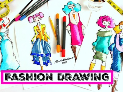 How to: Fashion Drawing