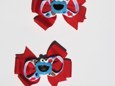 """HOW TO: Make a 3"""" Pinwheel Bow using 7.8 Ribbon by Lala's Lovely Bowtique"""