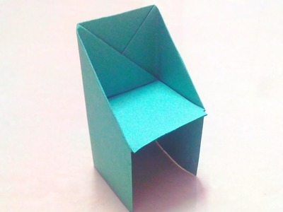 How To Make An Origami Chair Step By Step | Paper Craft | DIY Origami Paper Craft | Paper Chair