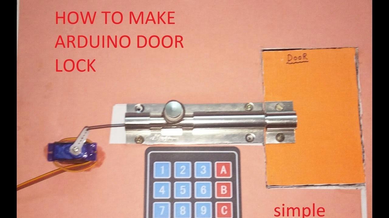 How To Make Arduino DOOR LOCK [HINDI]