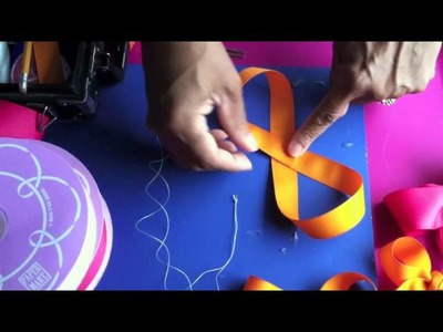 How to make Pretty Loopy Butterfly style Hairbows
