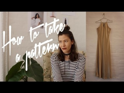 How to take a pattern from your clothes - T U T O R I A L