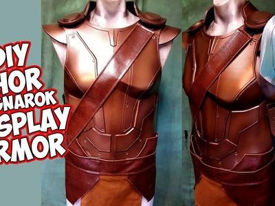 How to Thor Ragnarok Cosplay foam Armor