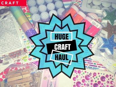 HUGE Crawford Market CRAFT HAUL| letscraft