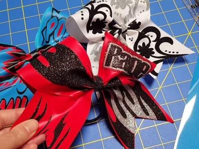 Make a Cheer Bow part 1