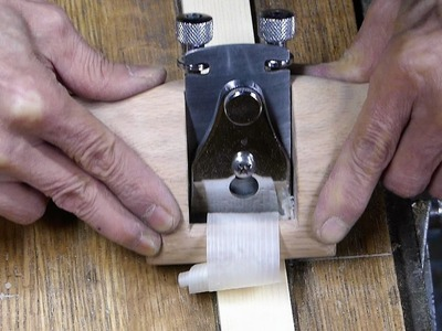 Making a spokeshave