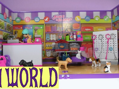 MiWorld Paws & Claws Pet Store Toy Review
