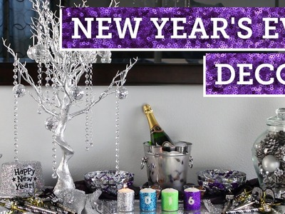 New Year's Eve Party Decor | BalsaCircle.com