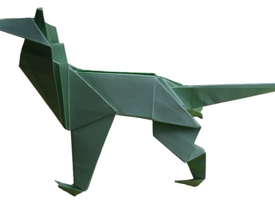 Origami: How To Make  Shepherd Dog | DIY CRAFT IDEAS|