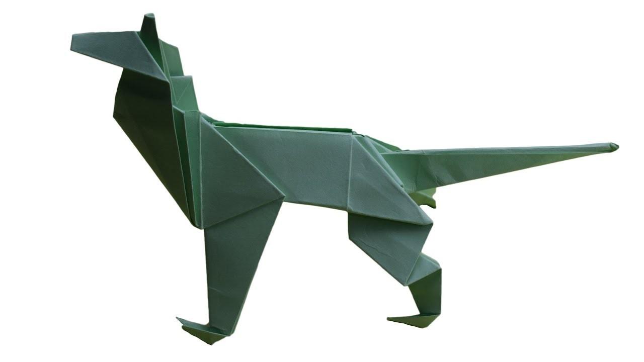 Origami: How To Make  Shepherd Dog   DIY CRAFT IDEAS 
