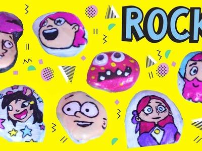 Painting ROCKS! Easy kids craft