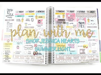 """Plan with Me: Shop Jessica Hearts """"Summer Light"""" 