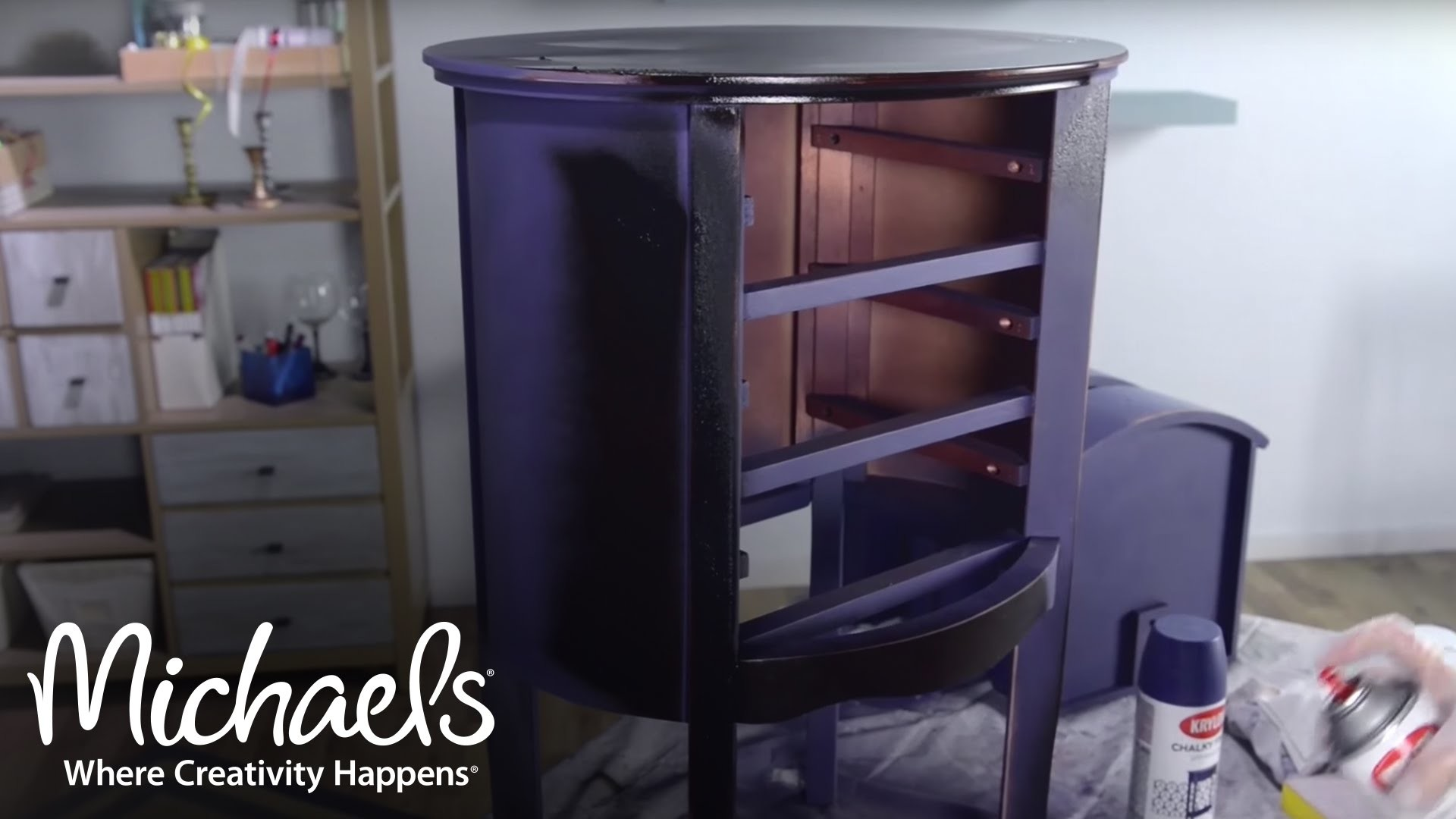 Repurpose Home Furniture with Krylon Chalky Finish | Make-a-Thon | Michaels