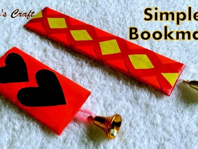 Simple Bookmark With New Idea| Useful For Study| Easy Craft