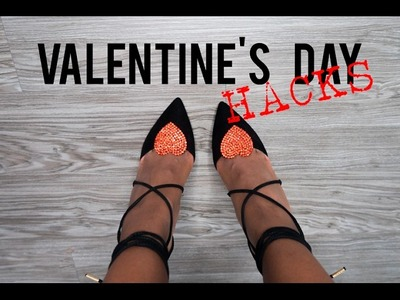 VALENTINE'S DAY HACKS - Easy Valentine's Day DIYs (3 in 1)