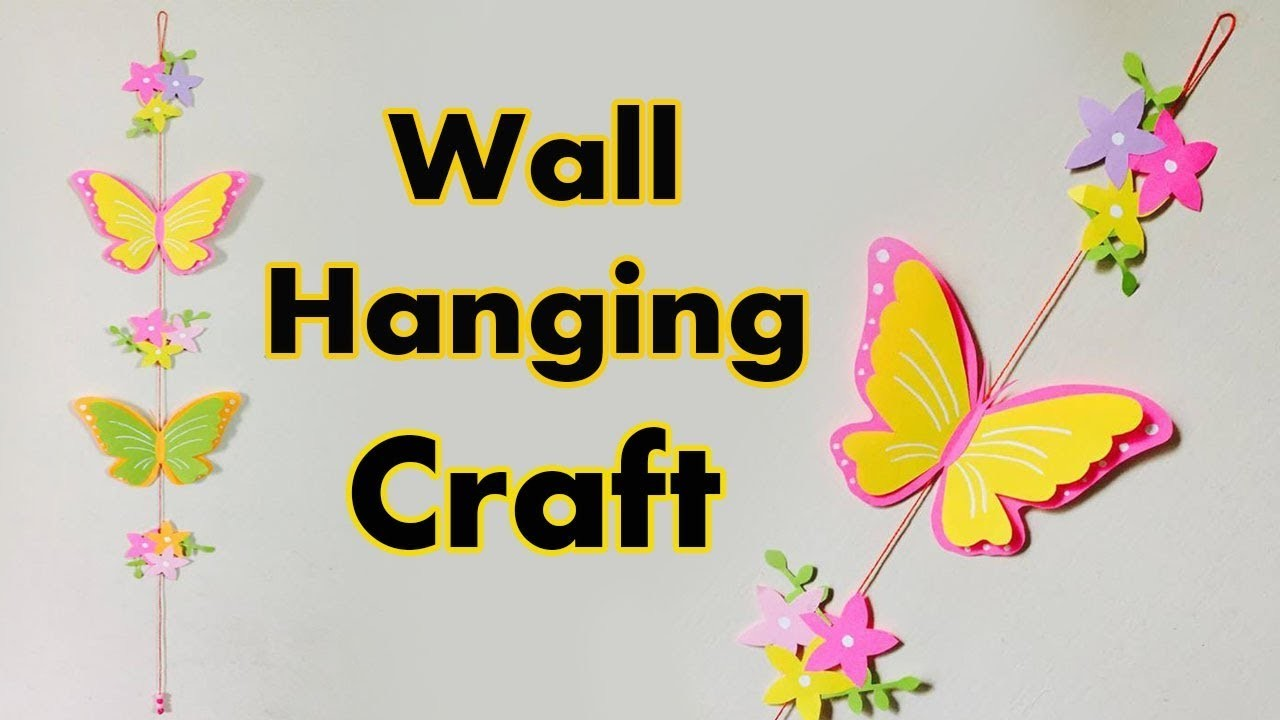 Famous Wall Hanging Craft Ideas Collection - The Wall Art ...