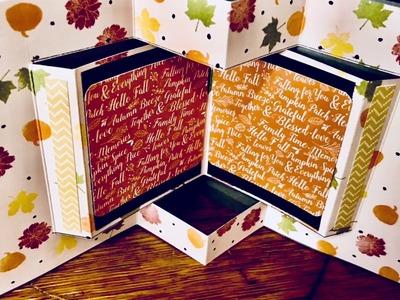 World Card Making Day-Pop Up Book Card-Blog Hop