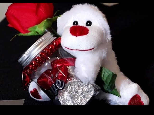 "2018 DIY Dollar Tree Valentine Decor.Gift ""Love is in the air"" Valentines Series part 2"