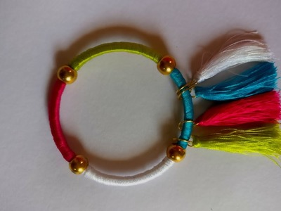 #4 How to Make Multi Color Silk Thread Bangles || DIY|| How to Make to Jewellery