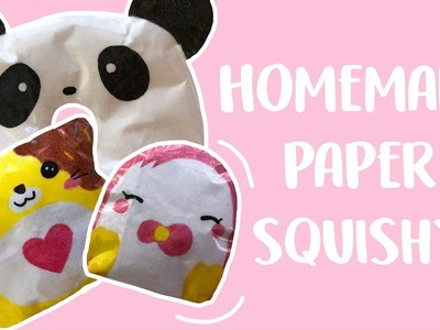 Attempting to Make Paper Squishes!