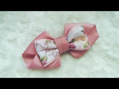 Beautifull Ribbon Bow | DIY by Elysia Handmade