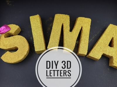 DIY 3D Letters for Parties and Home Decor - Crafts n' Creations