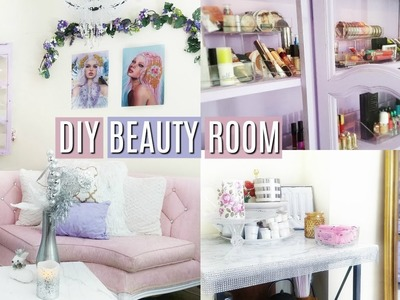 DIY AFFORDABLE BEAUTY ROOM 2018