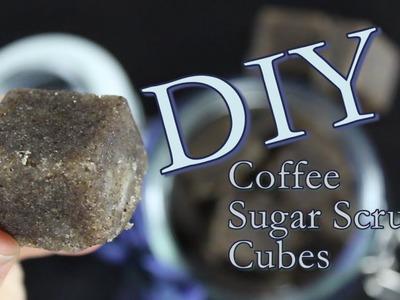 DIY Coffee Scrub Cubes | How To Make Sugar Scrub With Coffee