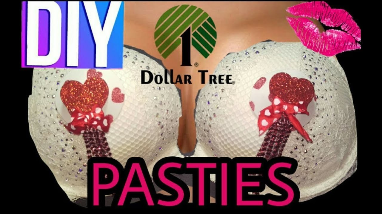 ???? DIY - DOLLAR TREE $5 PASTIES & How to make a Fast Fork Ribbon ????