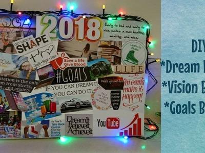 DIY Dream Board 2018 | Vision Board | Room Decor