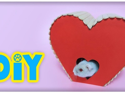 DIY Heart House For Small Pets