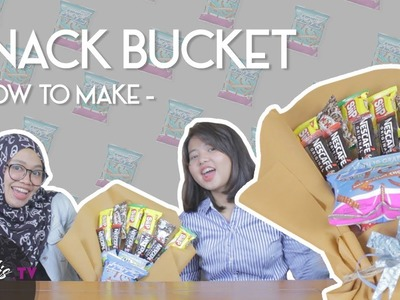 DIY | HOW TO MAKE SIMPLE SNACK BUCKET (LOW BUDGET)