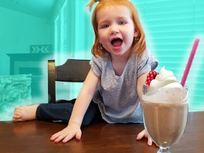 DIY MILKSHAKES WITH KIDS