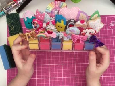 DIY: Poundland Paper clip holder and more handmade paper clips!