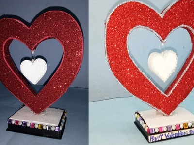 DIY ; Valentine Day special Love Heart Make Easy at home ! DIY crafts