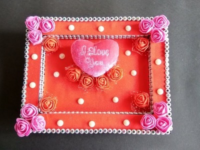 DIY | Valentine's day Gift from Old Clock | Best out of waste | wall hanging | Home decoration