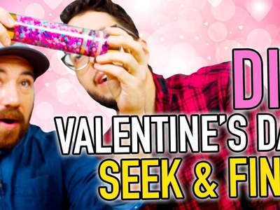 DIY Valentine's Day Seek & Find Gift ~ Sensory Game for Kids - HGTV Handmade