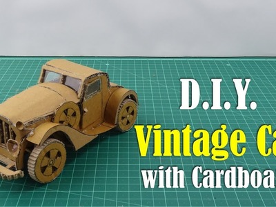 DIY: Vintage Car with Cardboard