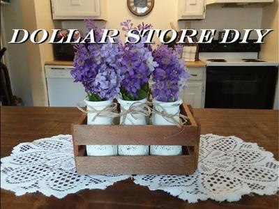 DIY Vintage Milk Crate | Dollar Tree DIY