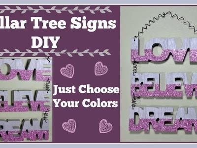 Dollar Tree Signs???? Wall Hanging DIY