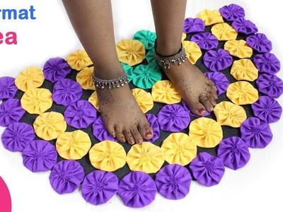 Doormat Idea | Make Awesome DIY Door Mat,Floor Mat,Rugs reusing old waste Cloth | Sonali creation171