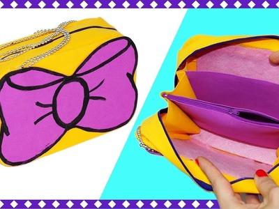 Easy DIY crafts | How to make bag | DIY Zipper Pouch Bag